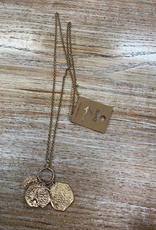 Jewelry Long Gold Coin Necklace