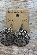 Jewelry Silver Floweret Earrings