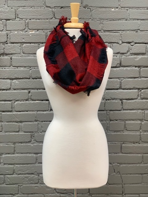 Scarf Checkered infinity Scarves