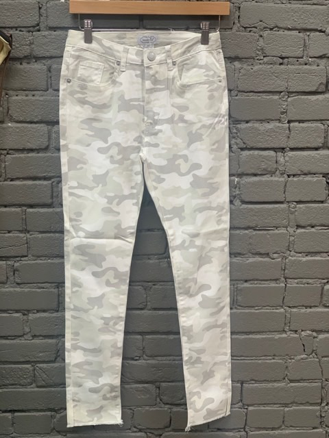 Jean White Rory Camo Jeans