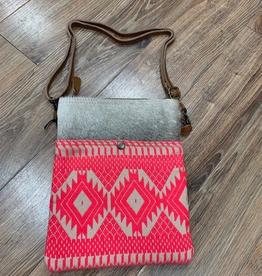 Bag Pink Petals Small Crossbody Bag