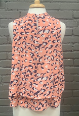 Tank Eleanor Peach Leopard Top
