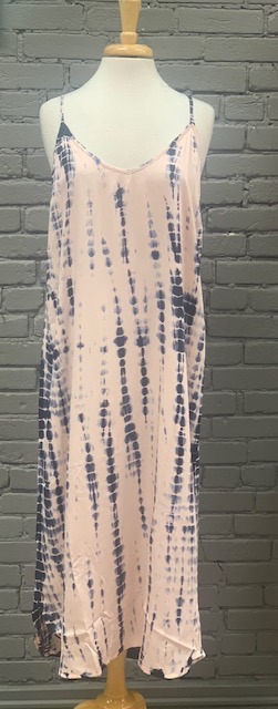 Dress Amma Tie Dye Midi Dress