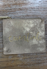 Wallet Shimmer Zip Pouch