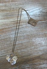 Jewelry Gold Silver Coin Necklace