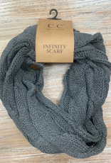 Scarf Knitted Infinity Scarf