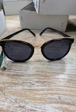 Sunglasses Sunglasses- Black Frame w. Gold