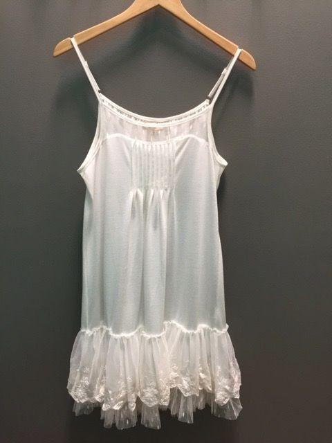 Dress Lace Trim Slip Dress