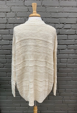 Cardigan Natural Pocket Knit Cardi