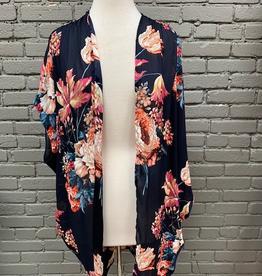 Kimono Navy Floral Kimono