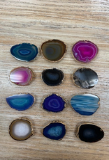 Other Agate Gold Trim Pop Sockets