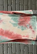 Long Sleeve Tie Dye Cowl Neck