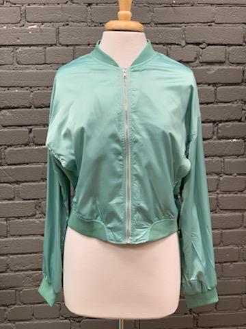 Jacket Mint Bomber Jacket