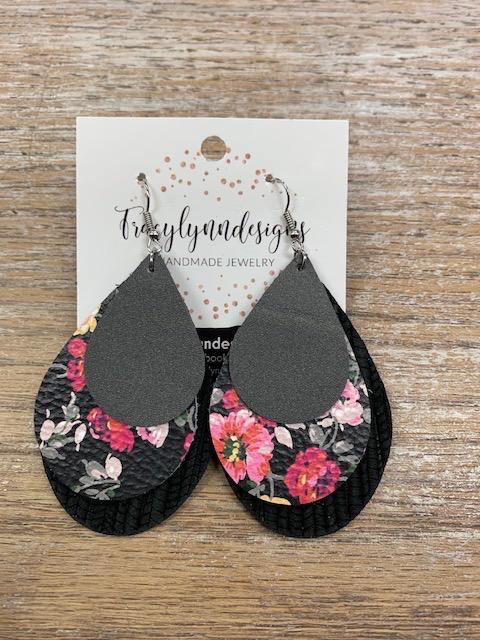 Jewelry TLD Triple Spring Floral Earrings