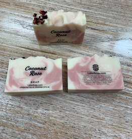 Beauty Lake Soap, Coconut Rose