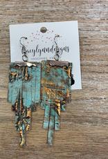 Jewelry TLD Aqua Tiers Earrings
