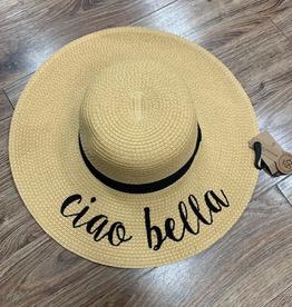 Hat CC Straw Ciao Bella Hat