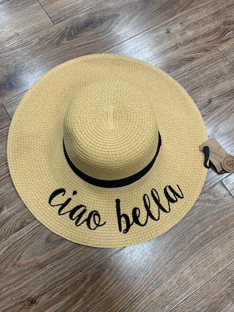 Hat CC Straw Ciao Bella Hat