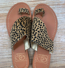 Shoes Spotted Cheetah Sandles