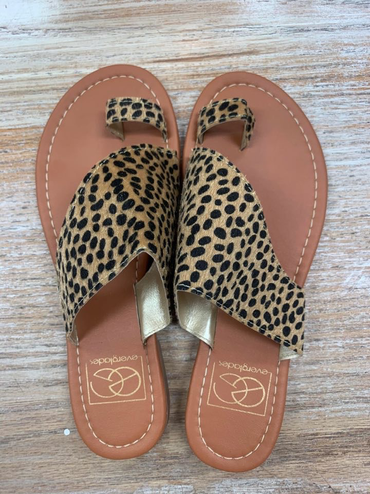 Shoes Spotted Cheetah Sandals
