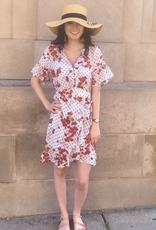 Dress Cherry Polka Dot Wrap Dress