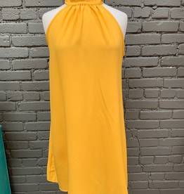 Dress Marigold Tie Back Halter Dress