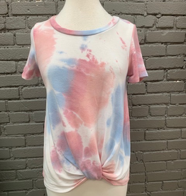 Top Tie Dye Knotted Top