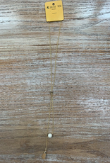 Jewelry Gold Bolo Tie Necklace