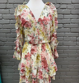 Dress Madalyn Floral Layer Dress
