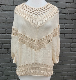 Top Dani Crochet Dolman Top