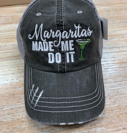 Hat Margaritas Made Me Do It Hat