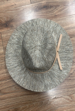 Hat Knit Fedora