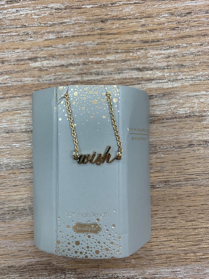 Jewelry Sentiment Word Necklace