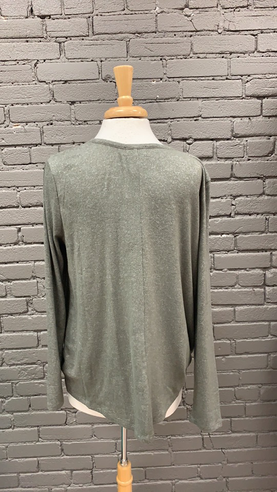 Long Sleeve Bryce Knotted LS