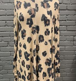 Dress Jillie Leopard Swing Dress