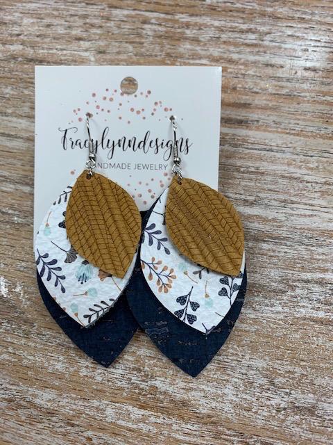 Jewelry TLD Fall Floral Triple Earrings