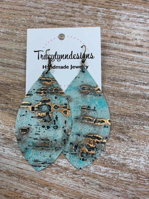 Jewelry TLD Aqua Birch Earrings