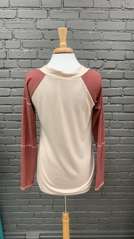 Long Sleeve Josie CrissCross Top