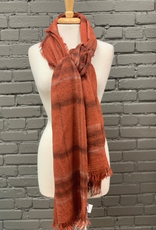 Scarf Brushed Plaid Scarf