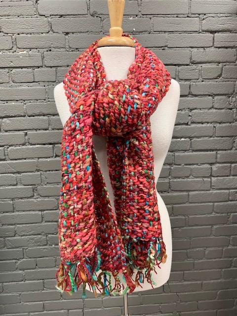 Scarf Reds Long Chunky Scarf