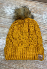 Beanie Mustard Knit Beanie