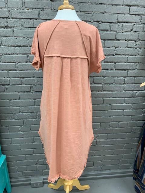 Dress Laura Ruffled Hem Dress