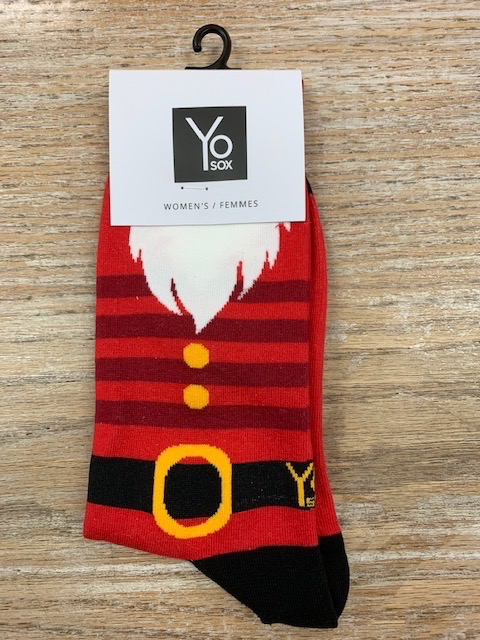 Socks Women's Crew Socks- Santa