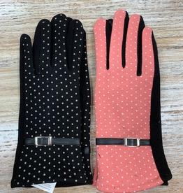 Gloves Polka Dot Texting Gloves