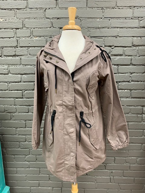 Jacket Nikki Hooded Zip Jacket