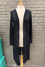 Cardigan Claire Navy Long Cardi