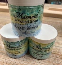 Beauty Lake Soap, Whipped Soap- Mermaid