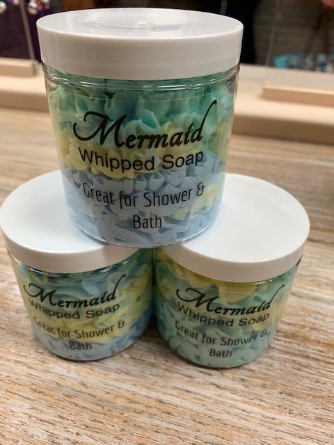 Beauty Lake Soap, Whipped Soap- Mermaid