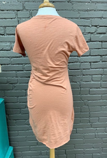 Dress Gina TShirt Rouched Dress