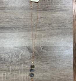Jewelry Long Rock Tassel Necklace